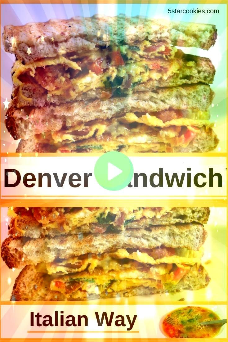 Sandwich Italian Way  5 Star Cookies Denver sandwich Italian way is quick easy and as big as the West and Italy when it comes to flavor It is perfect for a light supper S...