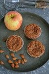 Low Carb Apfel-Zimt Muffins
