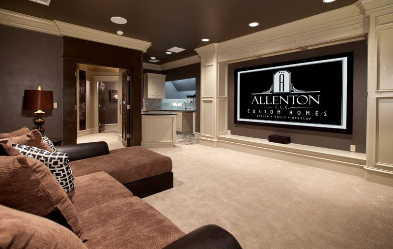 Basement Home Theatre Ideas Property a showcase of really cool theater room designs | room, comfy and