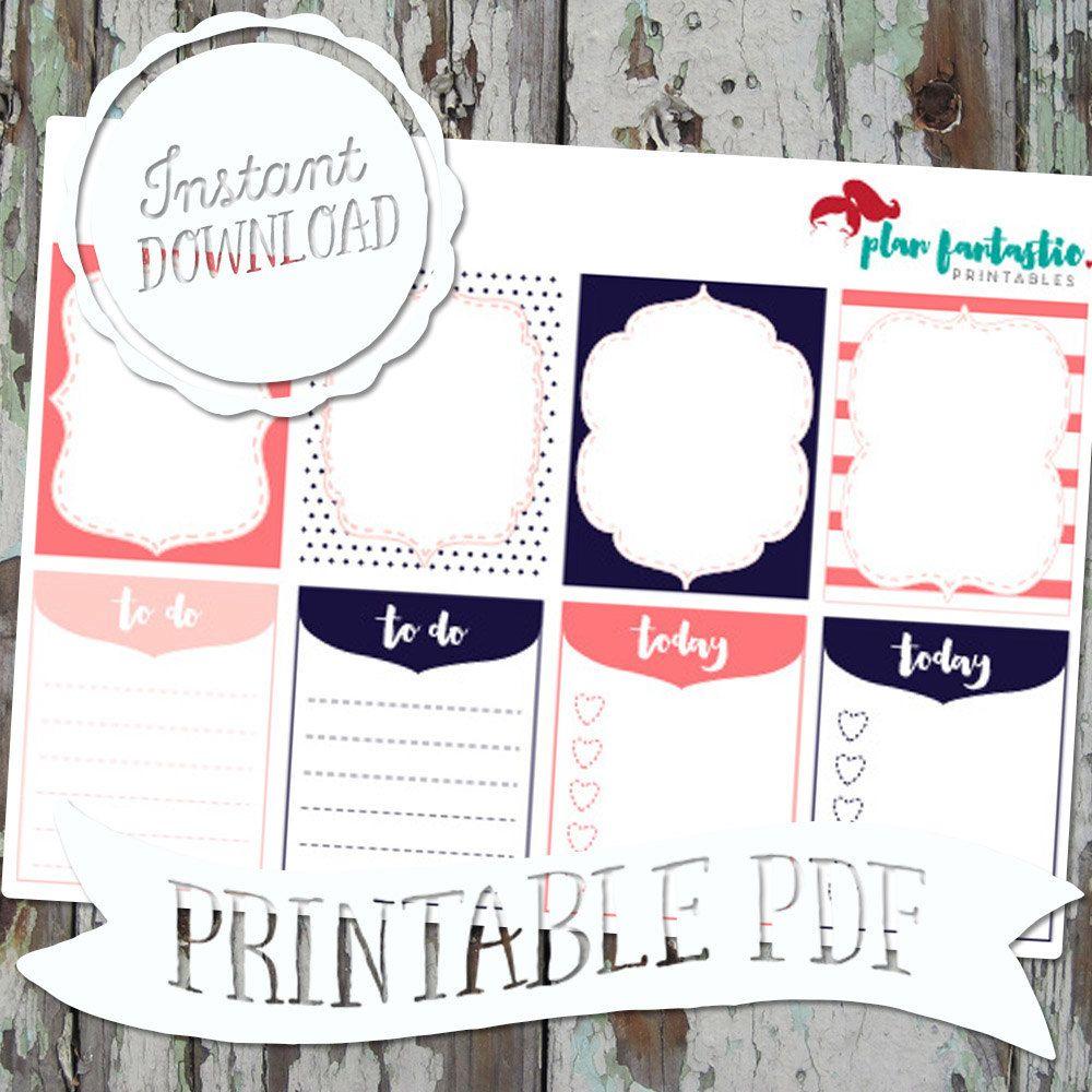 Sorority Girl EC Full Box PRINTABLE PDF Stickers by planfantastic on Etsy