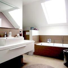 Moderne Badezimmer Bilder: Renovierung Einfamilienhaus Dortmund