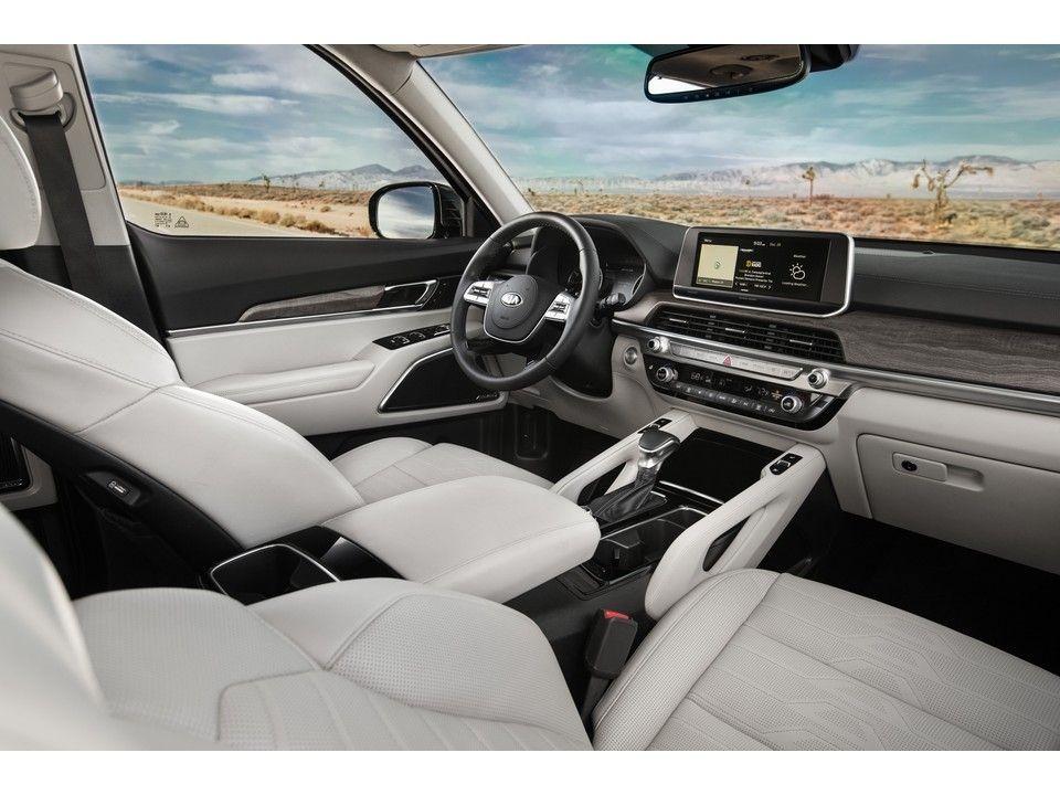 Kia Telluride Sx Interior In 2020 Kia Best Compact Suv Suv Comparison