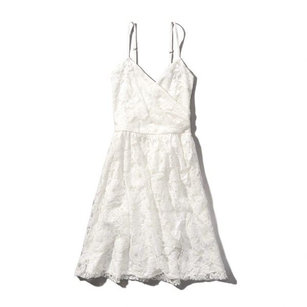 Abercrombie Fitch Lace Wrap Dress 48 Liked On
