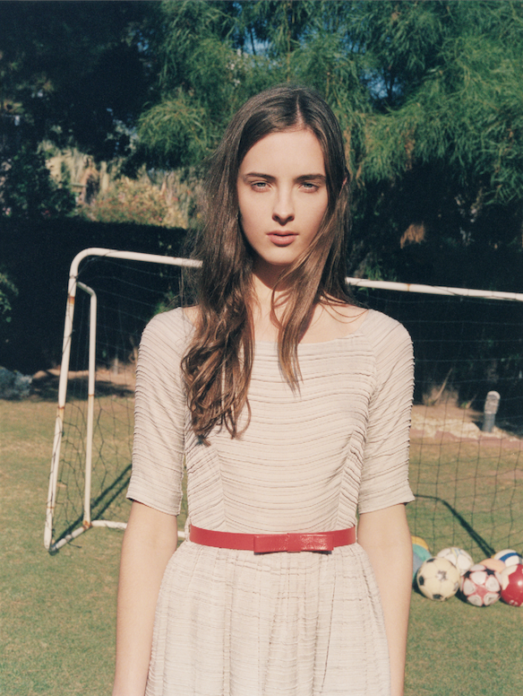 Orla Kiely campaign shoot SS 12 Photographed by  Venetia Scott