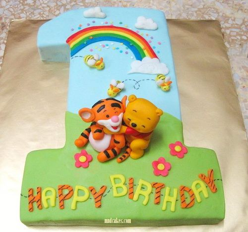 1 St Baby Birthday Cake Ideas With Images Baby Birthday Cakes