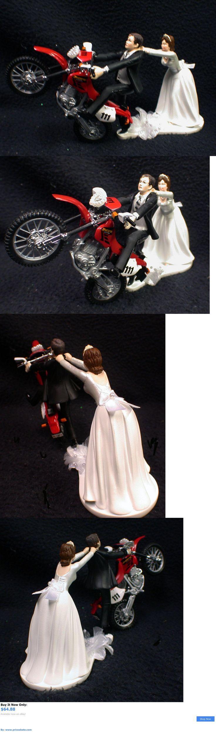 Wedding Cakes Toppers: Off Road Dirt Bike Motorcycle Wedding Cake ...