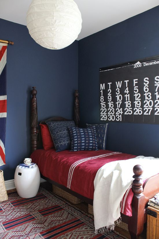 Room Decorating Before And After Makeovers Red Boys Bedroom Boys Room Blue Bedroom Red