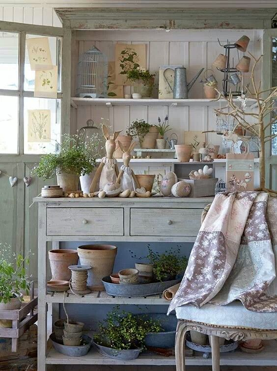 Lovely country Easter display