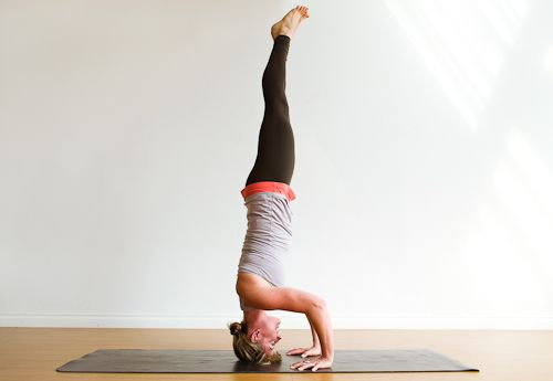 5 steps to headstand | step 5