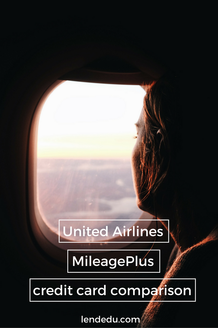 United Airlines Mileageplus Credit Cards Review Lendedu Best Credit Card Offers Credit Card Deals Credit Card
