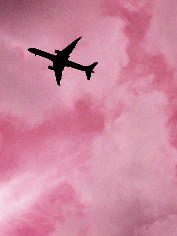 airplanes, colors, pink, pink grunge, pink aesthetic ...