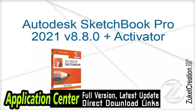 Autodesk Sketchbook Pro 2021 V8 8 0 Activator Sketchbook Pro
