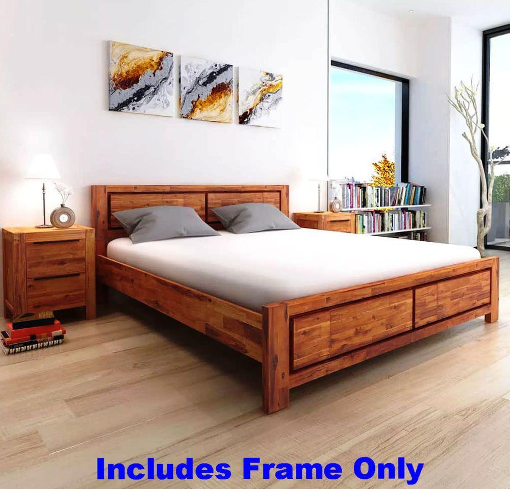 Best King Bed Frame Traditional Wooden Platform Headboard Focal 400 x 300