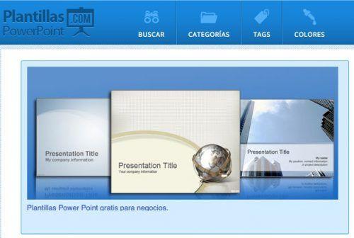 Los mejores sitios para descargar plantillas PowerPoint gratis para ...