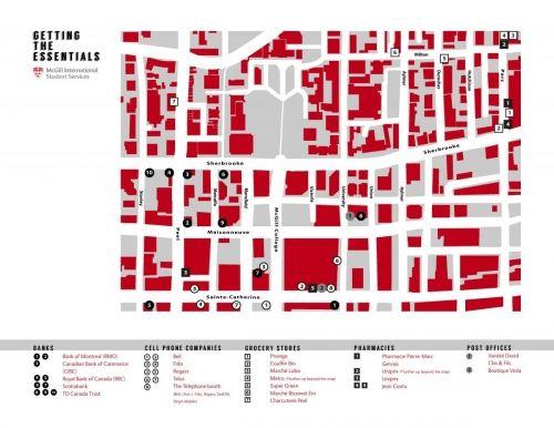 McGill campus maps | International Student Services - McGill ...