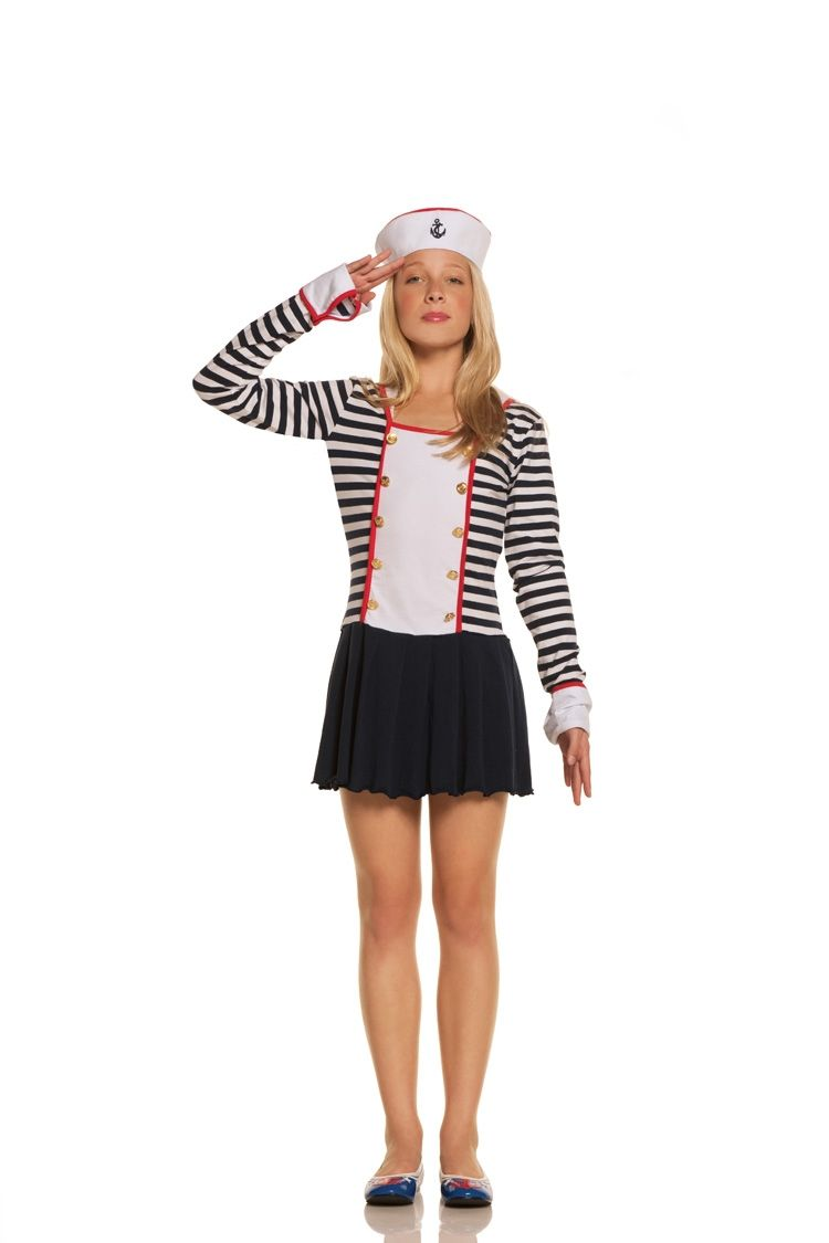 Sexy Sailor Costume  Kidsteens - Costumes  Sailor -4667
