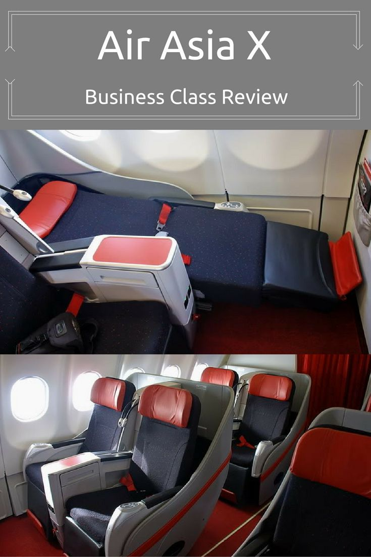 Ever wondered what business class is like on a budget airline? My review of Air Asia X will stop your guessing ...  sydneyfashionhunter.com/2016/08/air-asia-x-business-class-review.html