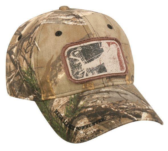 Major League Bowhunter® Camo Frayed Patch Hat  68d49da9877d