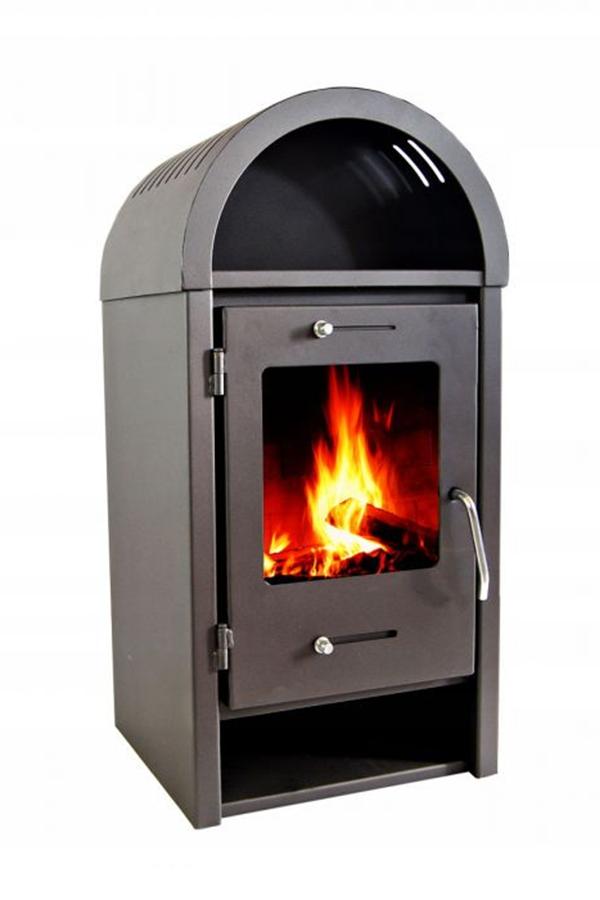 Piec Stalowy Koza Kominek Polski Szamot Wegiel 14k Home Appliances Wood Stove Home