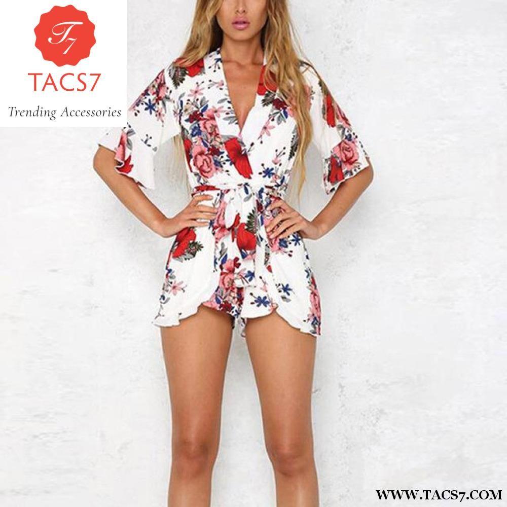 56e8e73478 Bohemian Casual Jumpsuit Romper Women Dress – Trending Accessories