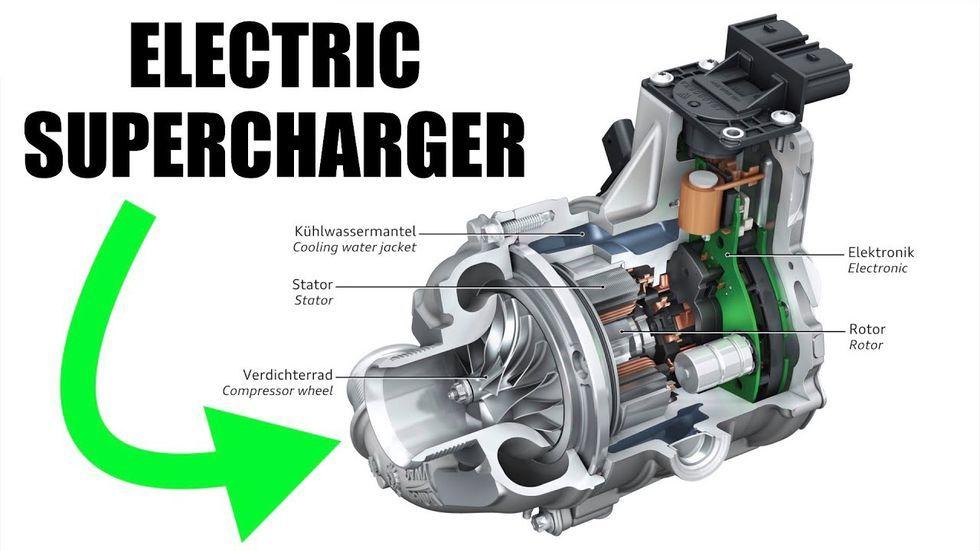 How Electric Supercharging Eliminates Turbo Lag Supercharger Electricity Electric Car Conversion