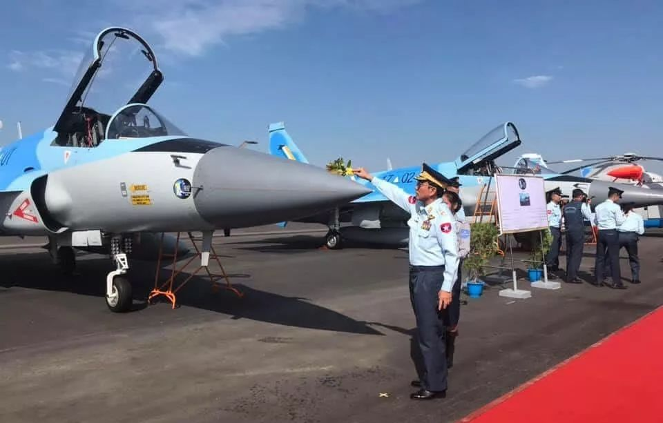 Myanmar officially inducts JF-17M Thunder fighter | Fighter, Airplane  fighter, Fighter jets