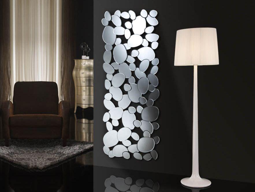 Espejo moderno de cristal petra rectangular decoracion for Decoracion de espejos