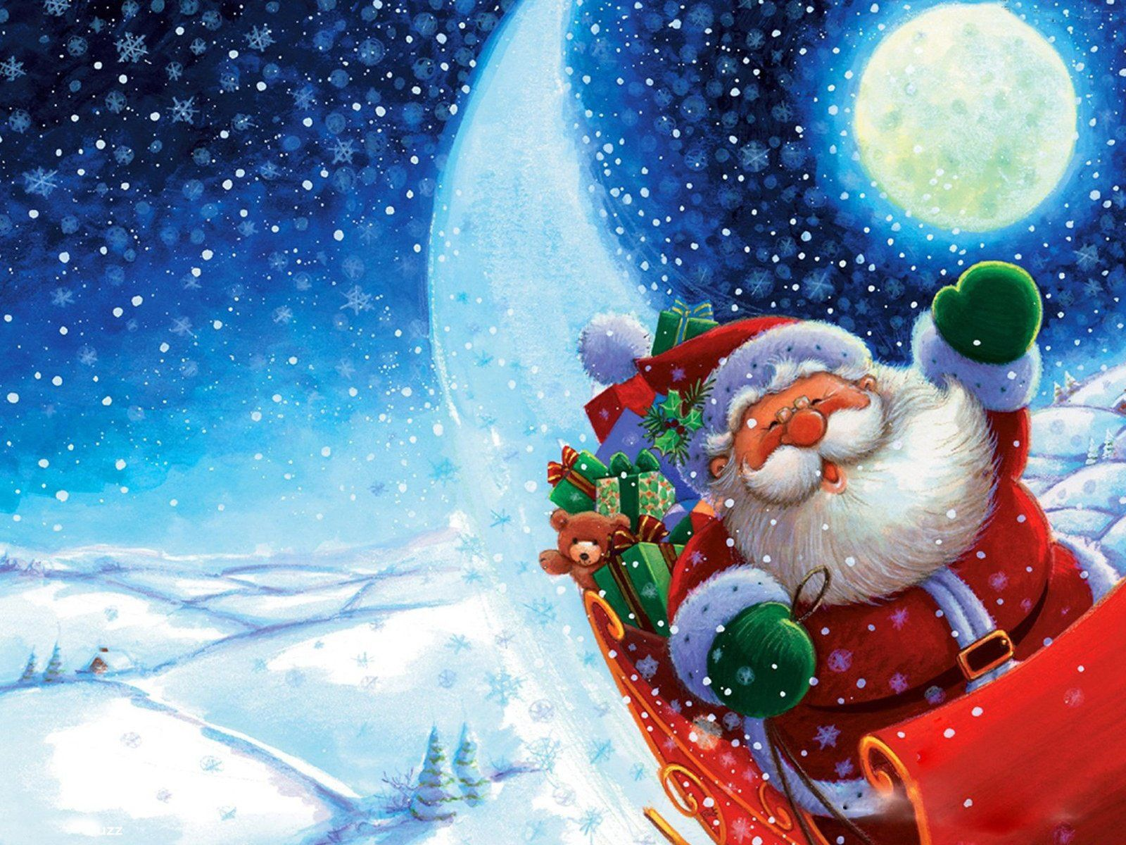 Pin By Deborah Hines On Holidays Funny Christmas Wallpaper Santa Claus Wallpaper Santa Claus Pictures