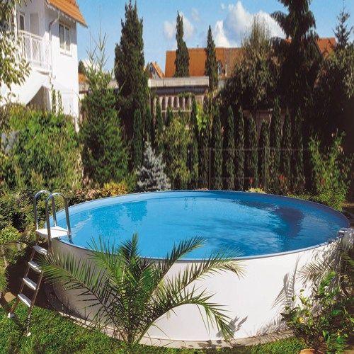 Rund Pool Clear Pool Ibiza Ovanmark - Pool - Pooler - Bygghemma.se