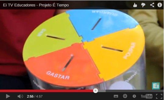 Projeto É Tempo   http://www.projetoetempo.com/ https://www.facebook.com/pages/Projeto-de-Educa%C3%A7%C3%A3o-Financeira-%C3%89-tempo-/127251474042072