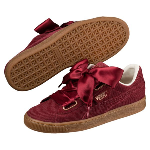 672e998e1da1 Image 1 of Basket Heart Corduroy Women s Sneakers