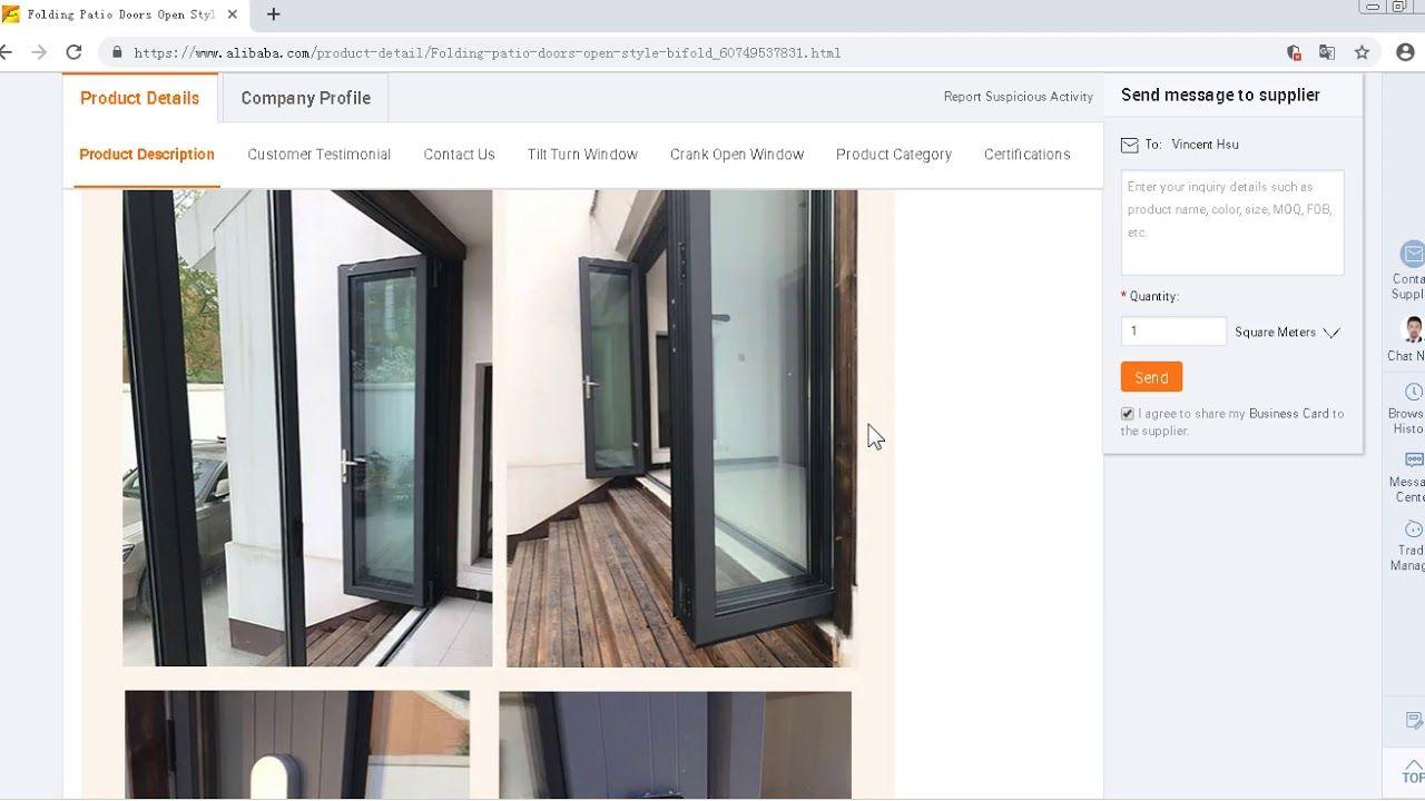 Https Www Alibaba Com Product Detail Best Selling Hot Sell Aluminum Bi 60750989948 Html Best Selling Hot Sell Alu Bifold Doors Folding Doors Folding Windows