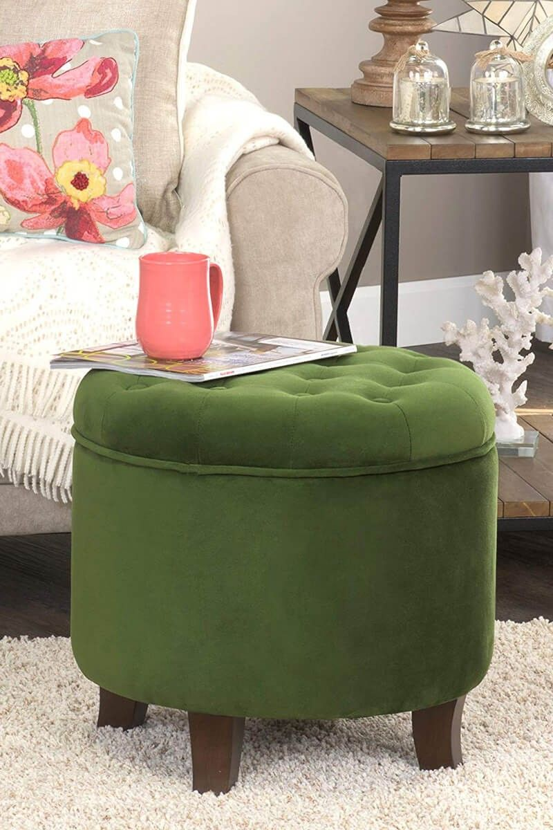 24 Trendy Hassocks And Ottomans To Make Your Room More Relaxing In 2020 Ottoman Room Home Decor