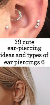 39 cute ear-piercing ideas and types of ear piercings 6   - Piercings - #cute #e...  #ideas #piercing #piercings #types #earpiercingideas 39 cute ear-piercing ideas and types of ear piercings 6   - Piercings - #cute #e...  #ideas #piercing #piercings #types #earpiercingideas