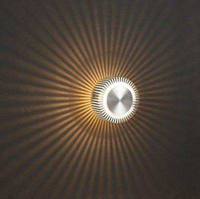 Effektleuchte, Wandleuchte Sunbeam large, Kiom 10047: Amazon.de ...