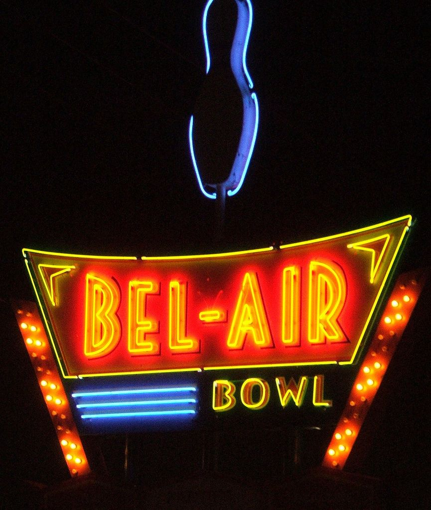 Neon Bowling Vintage Neon Signs Neon Signs Vintage Signs