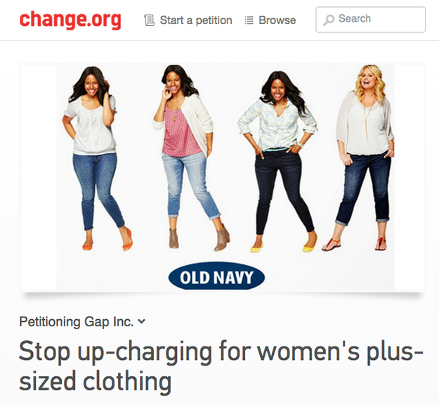 185e7d5d15a Old Navy Explains Why It Charges More For Women s Plus-Size Clothes - Now  there