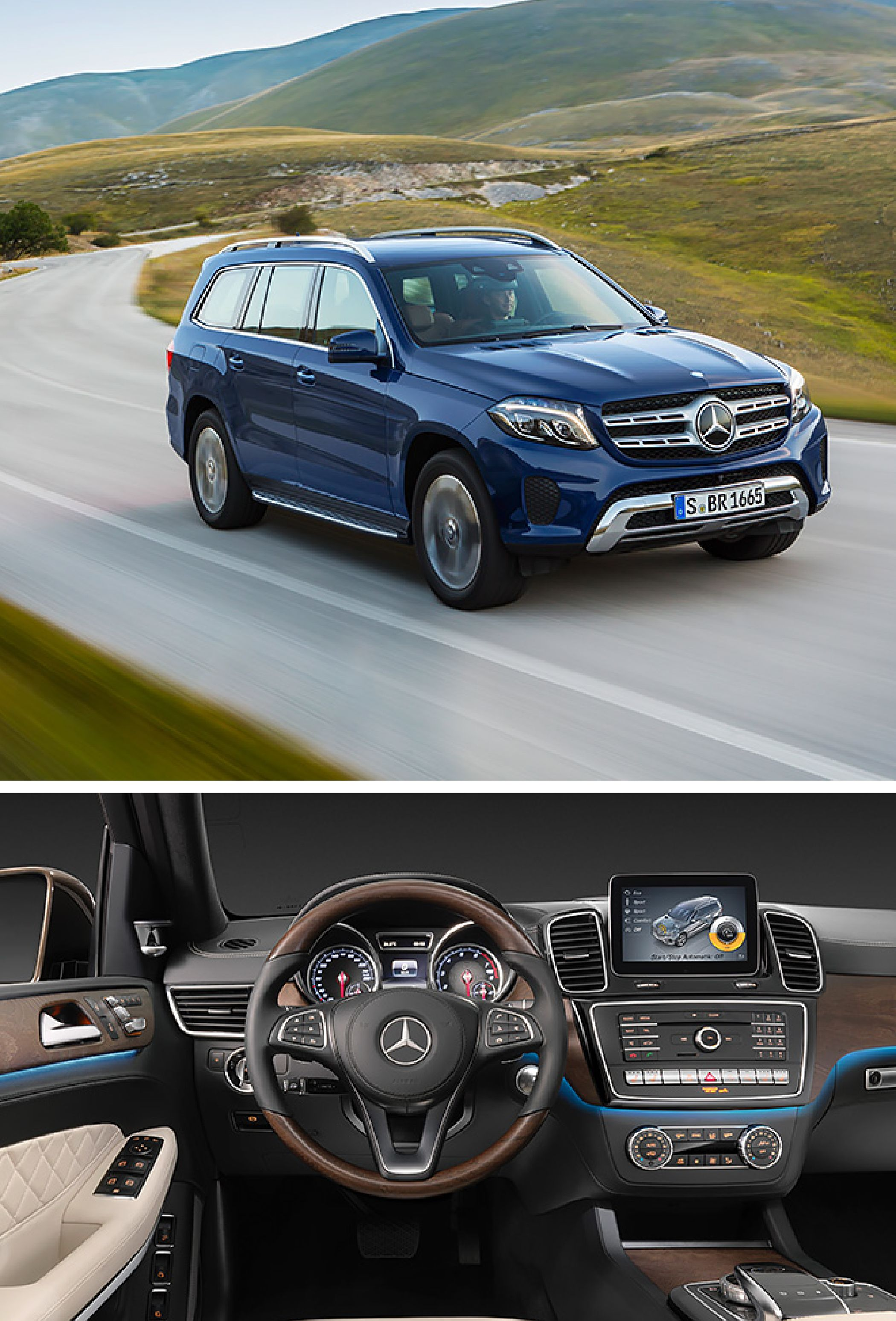 """The GL becomes the GLS. This Mercedes-Benz is setting standards in the world of the SUV as it confirms its position as the """"S-Class among SUVs."""""""