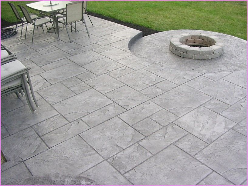 Stamped Concrete Patios In Westlake Ohio