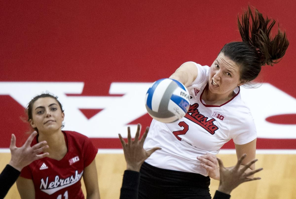 Nebraska Volleyball Players Earn More Awards Volleyball Players Volleyball Inspiration Nebraska