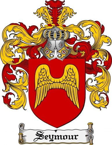 Seymour Coat Of Arms Seymour Family Crest Instant Download For