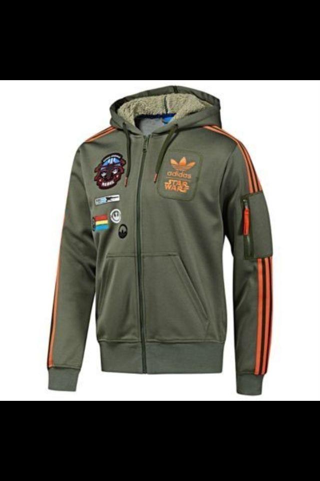 Adidas Star Wars Zip Up | My Style | Star wars jacket