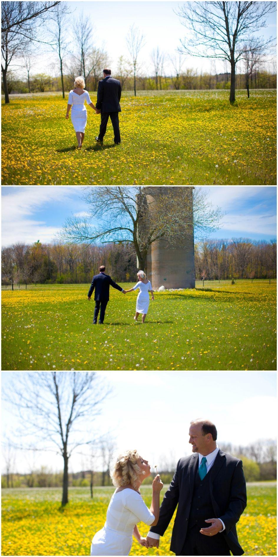 wedding day field.