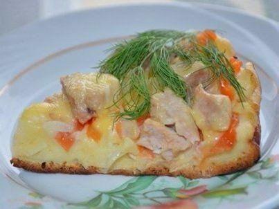 Пицца Быстрее просто не бывает, жаренная на сковороде / Женское счастье!