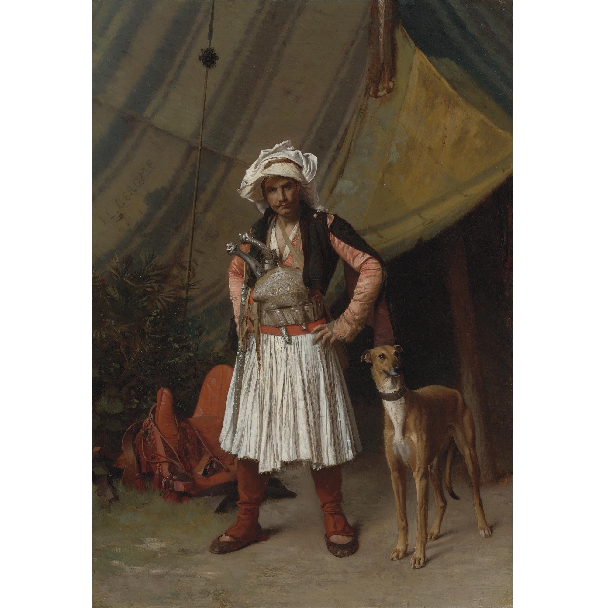 Jean Léon Gérôme Lot Kunstgeschichte Arabische Kunst Kunst Gemälde