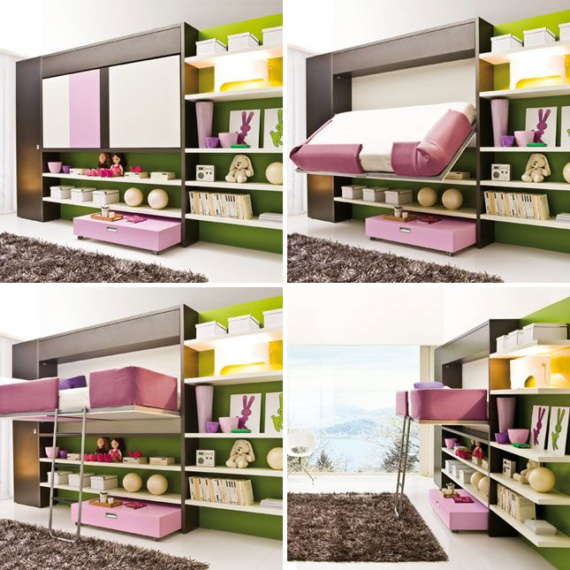 10 Murphy Beds that Maximize Small Spaces | Maximize small space ...