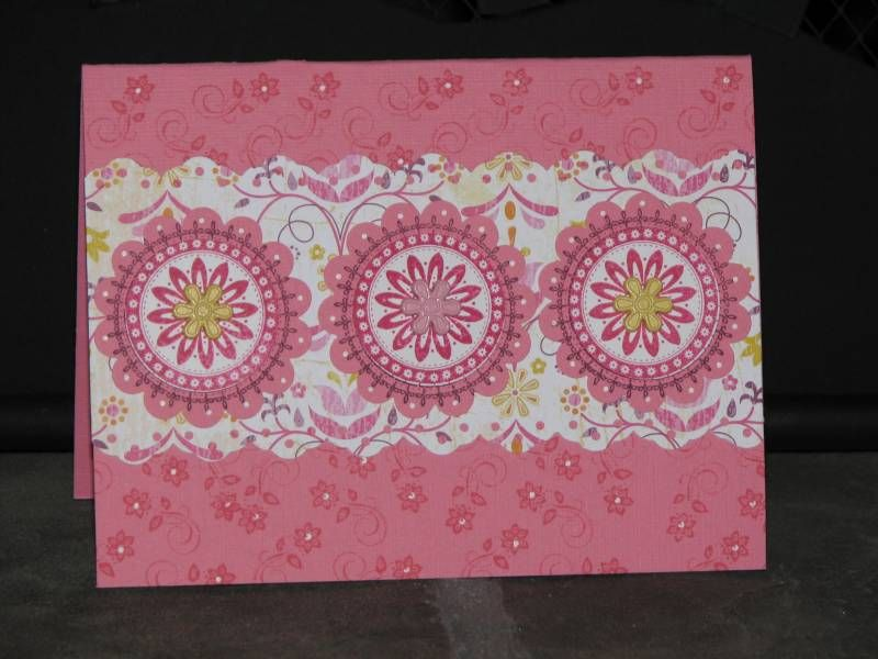 Regal Rose Boho Card by Carol's Corner - Cards and Paper Crafts at Splitcoaststampers