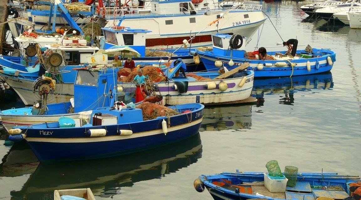 Pozzouli near Naples, Italy