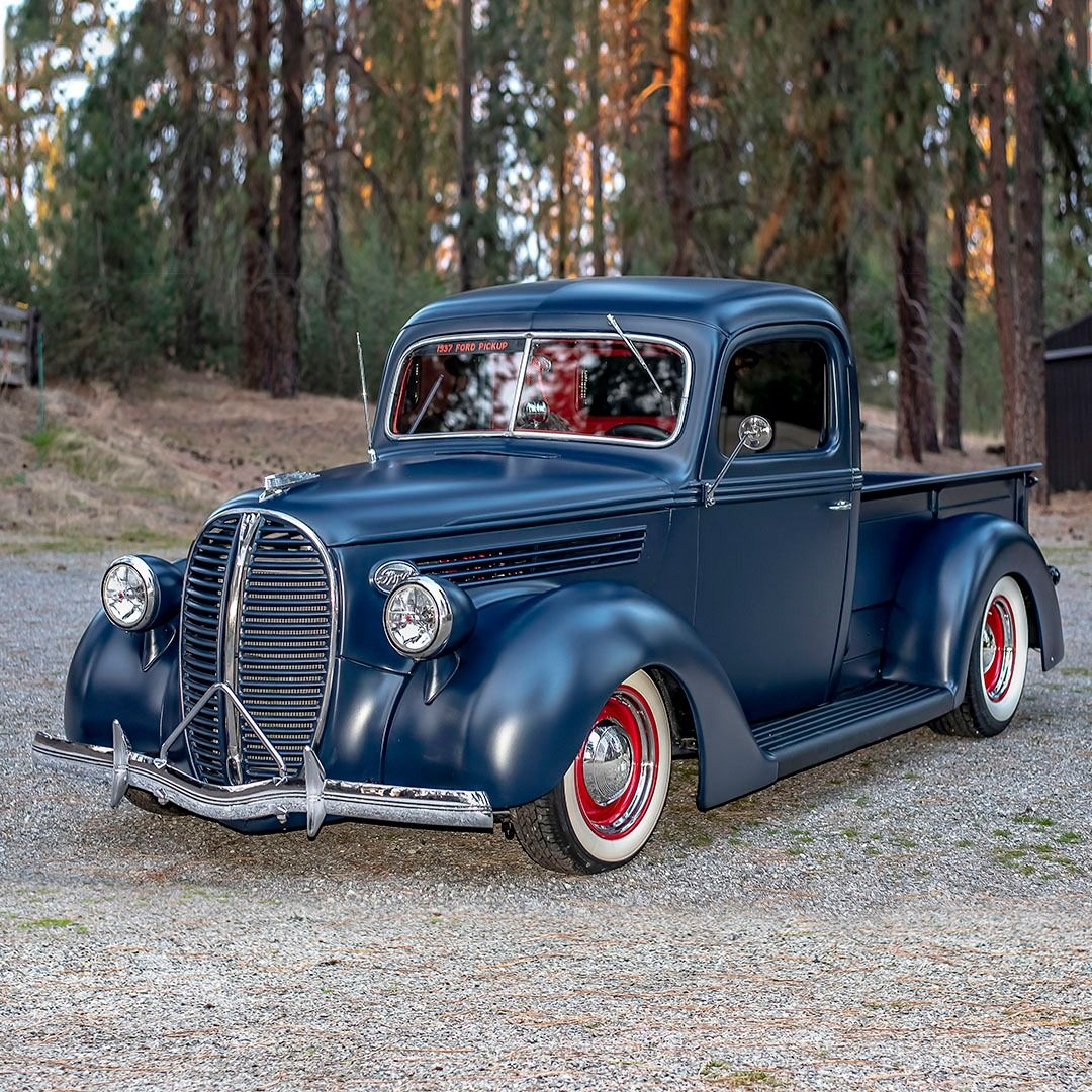 Scottsdale Auction Preview This 1937 Ford Custom Pickup Features