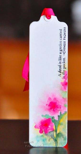 The Storyteller: Watercolor Bookmarks-Faber Castell